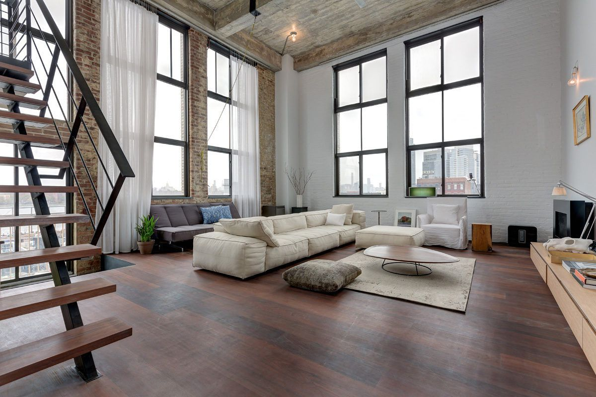 Williamsburg Loft Goes From Shabby To Industrial Chic