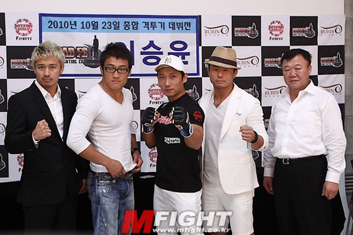 """Newly-formed promotion Road FC hopes to cultivate the next generation of Korean MMA stars. Photo courtesy of <a href=""""http://www.mfight.co.kr/"""" target=""""new"""">MFight</a>."""