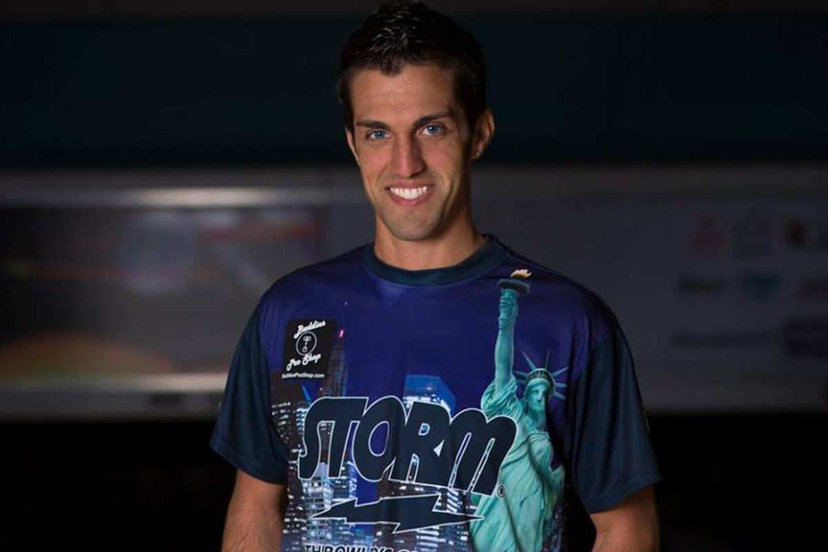 Anthony Pepe is a professional bowler from Elmhurst, N.Y. and is sponsored by Storm.