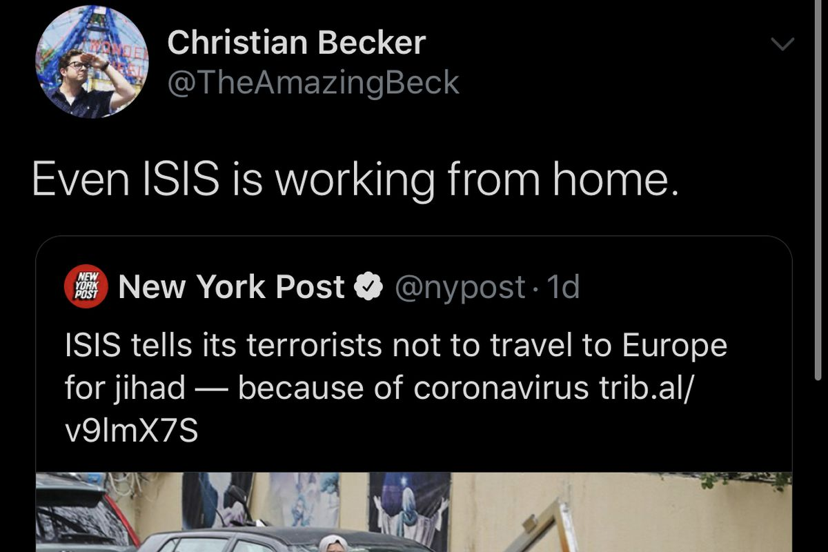 Black Twitter S Funniest Tweets About Coronavirus Revolt