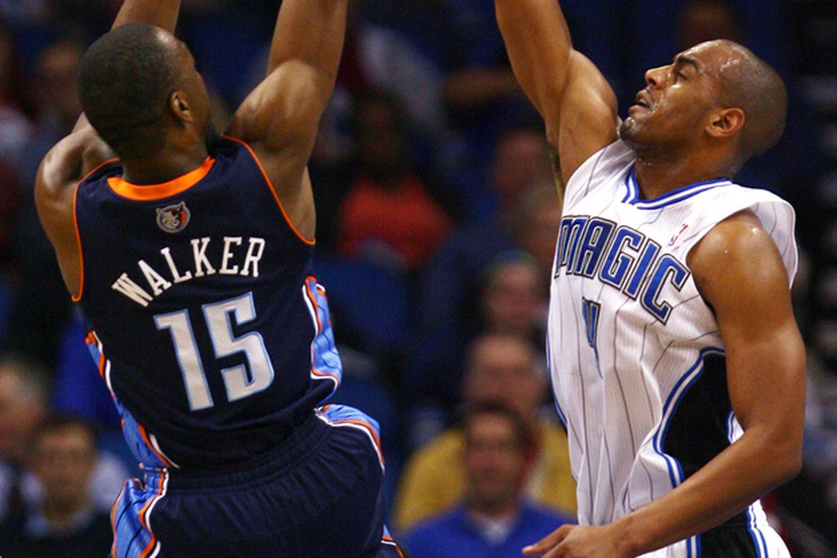 Kemba Walker and Arron Afflalo