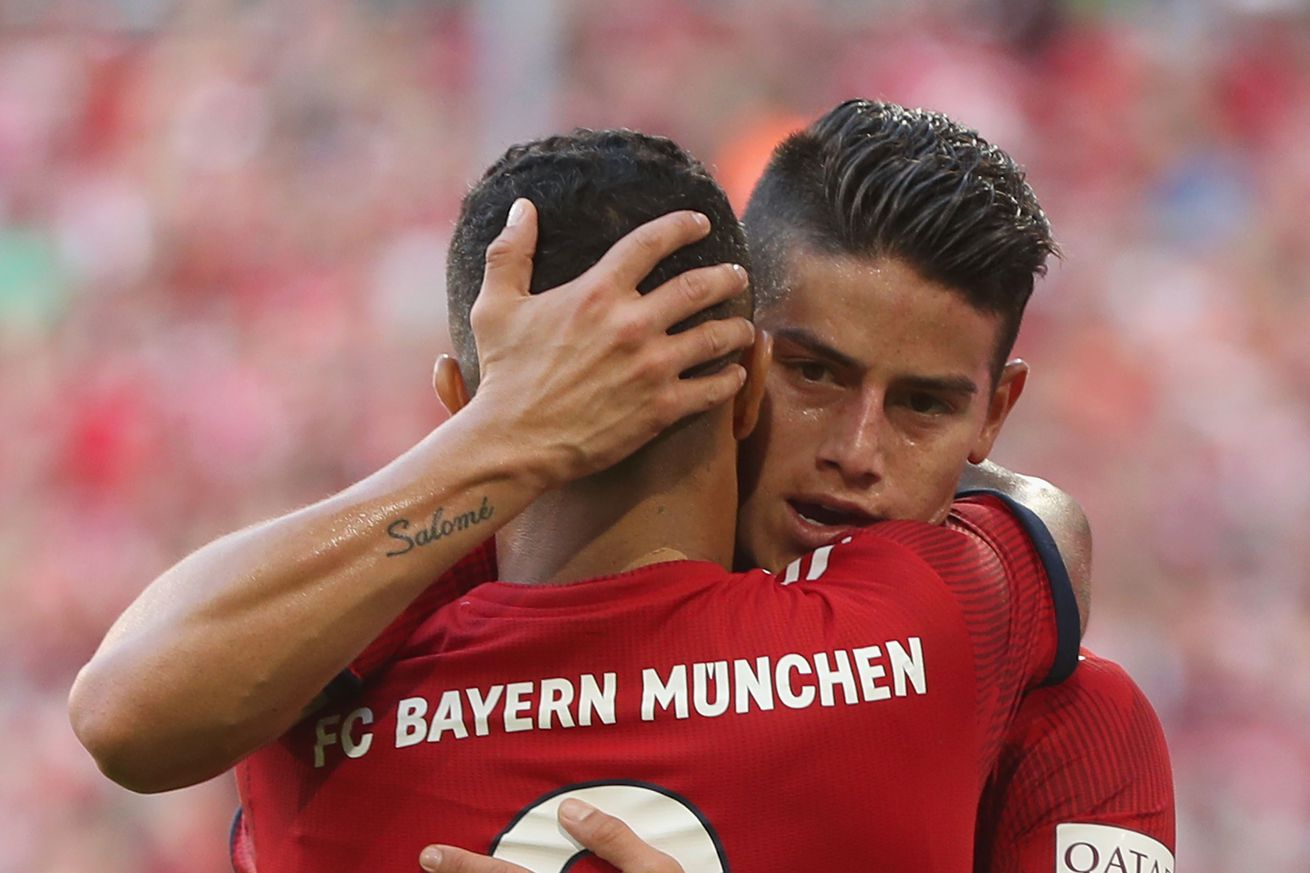 James Rodriguez upset with Kovac over team selection