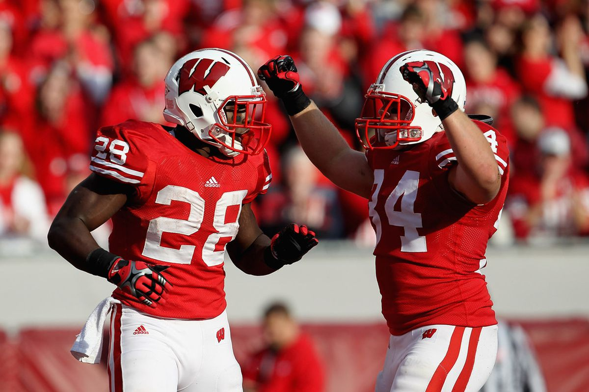 After losing their last two games, the Badgers got back to their winning ways Saturday with a 62-17 beatdown of Purdue.