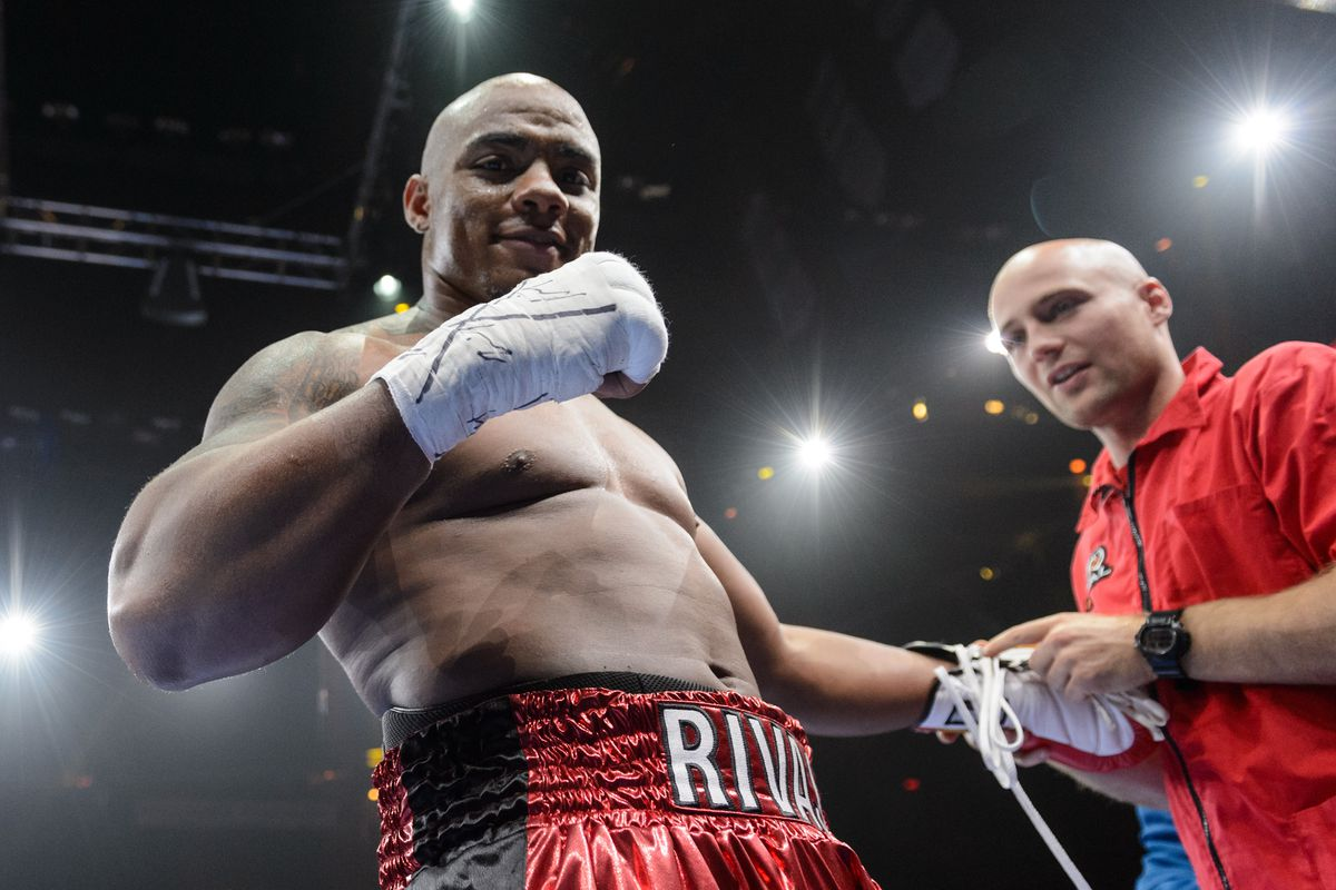 Oscar Rivas looking to beat Dillian Whyte and earn world title shot