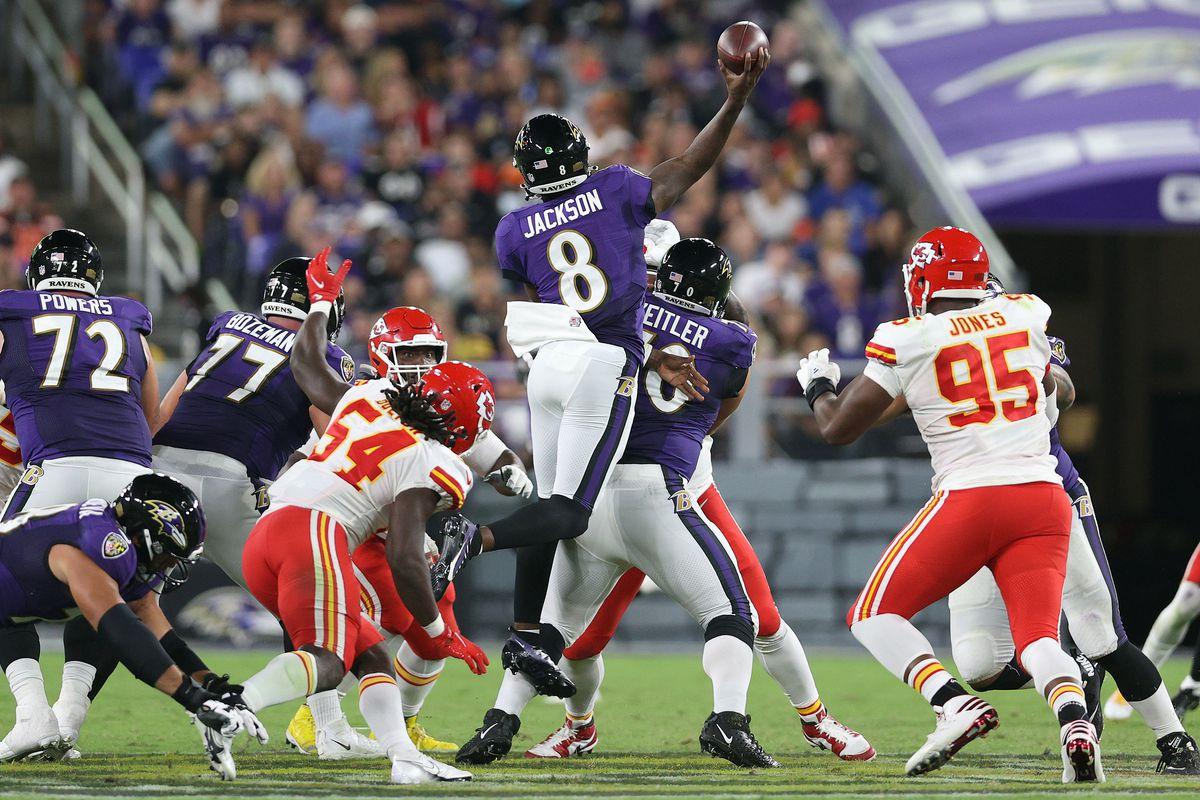 Kansas City Chiefs v Baltimore Ravens