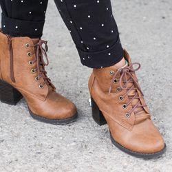 Natasha's shoes are Go Jane