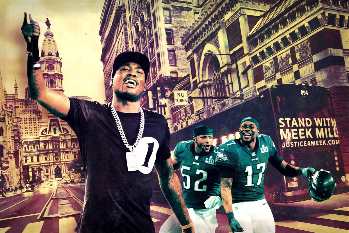 "a8ed2f720de Meek Mill's ""Dreams and Nightmares"" Embodied the Eagles' Underdog ..."