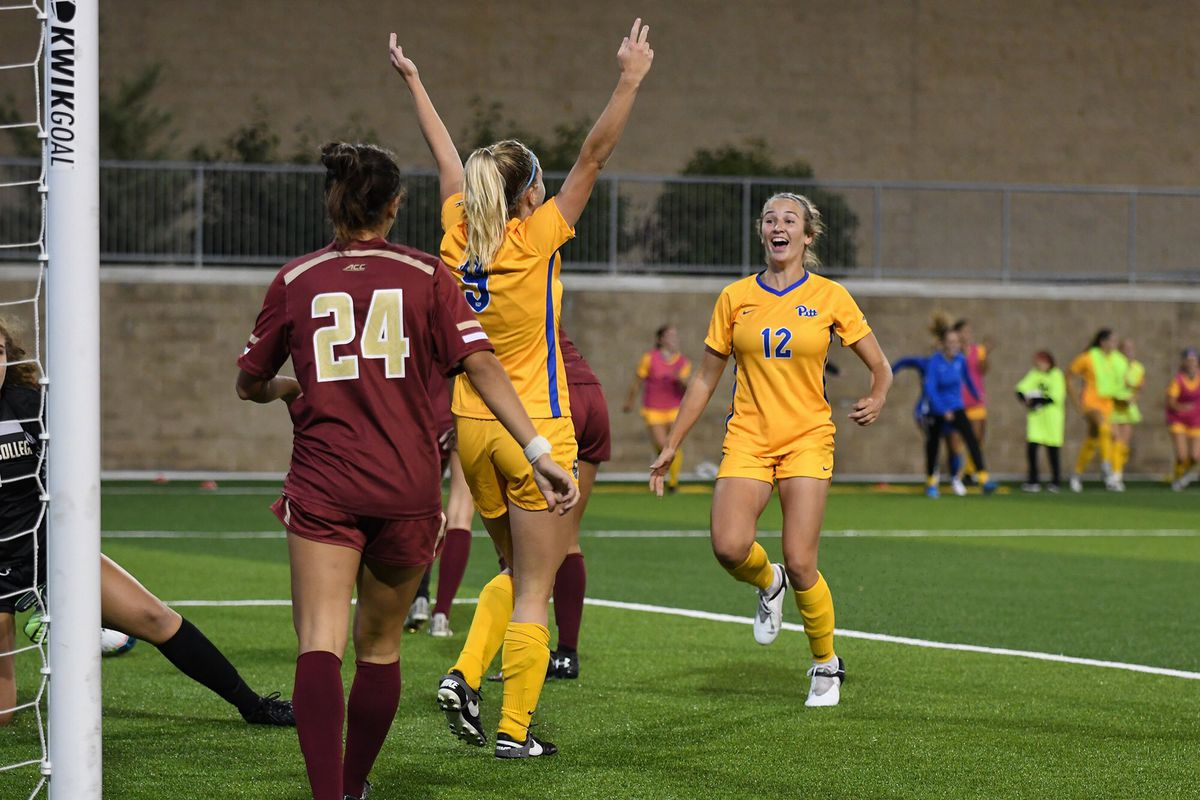 Pitt women's soccer beats Boston College in overtime for first ACC win since 2016
