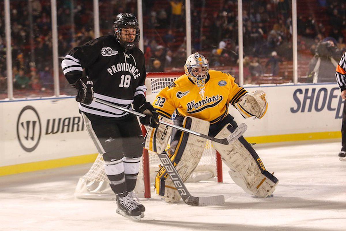 Merrimack goaltender Rasmus Tirronen was named the Hockey East Defensive Player of the Week.