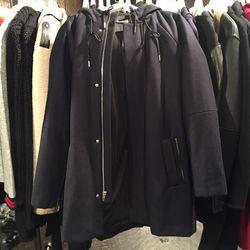 T Alexander Wang combo duffle coat, $255 (was $850)