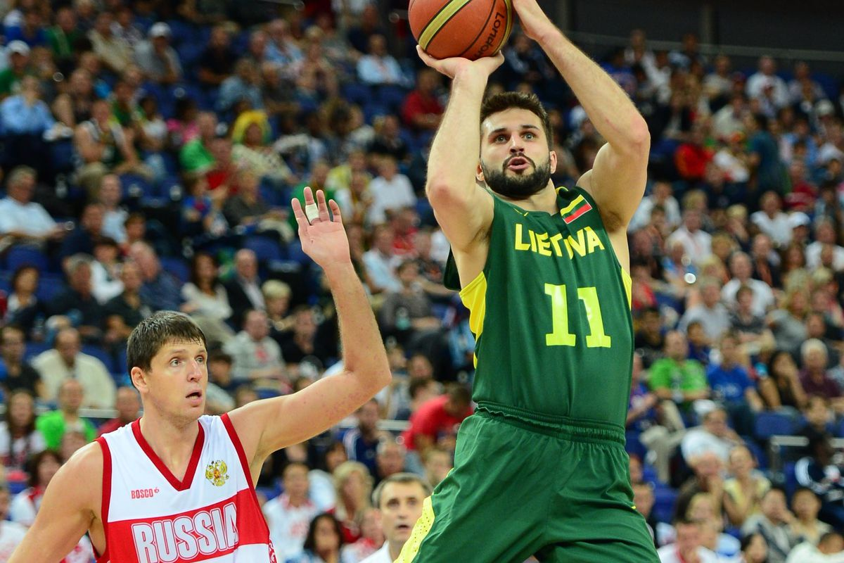 Kleiza and company look to take Group B by storm.