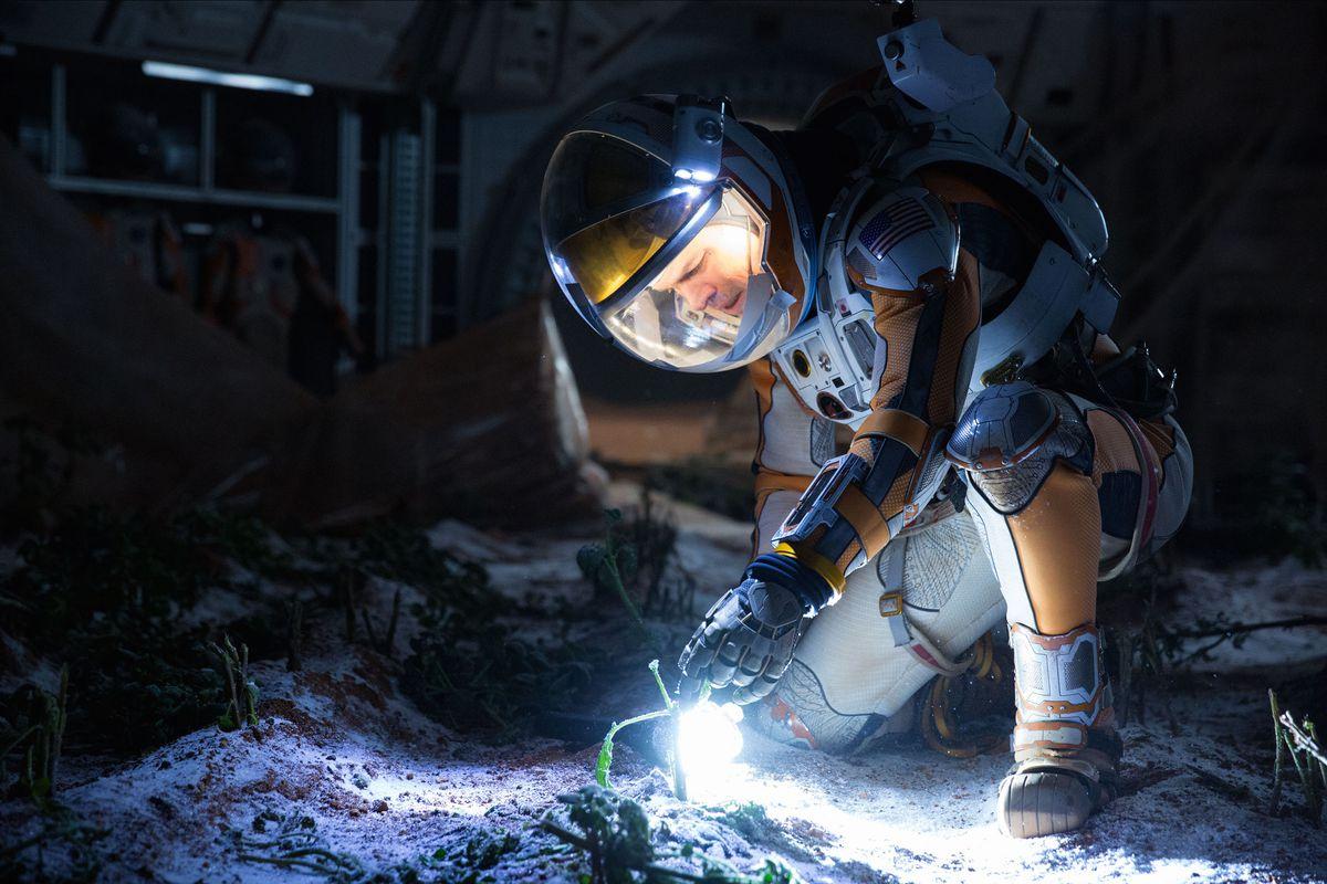 Matt Damon stars in The Martian, the movie that broke the Mars movie curse.