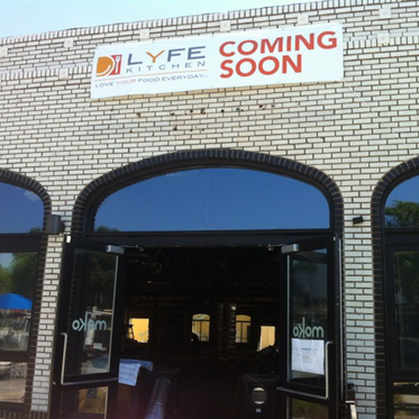 LYFE Kitchen Posted Signage This Week in Culver City - Eater LA