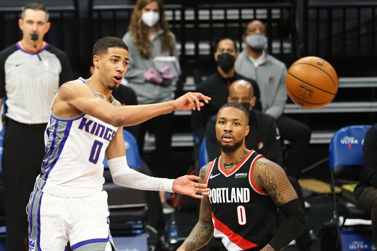NBA: Portland Trail Blazers at Sacramento Kings