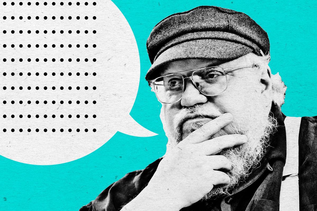 A Brief Timeline of George R R  Martin Focusing on 'The