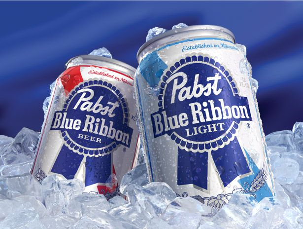 Pabst two cans