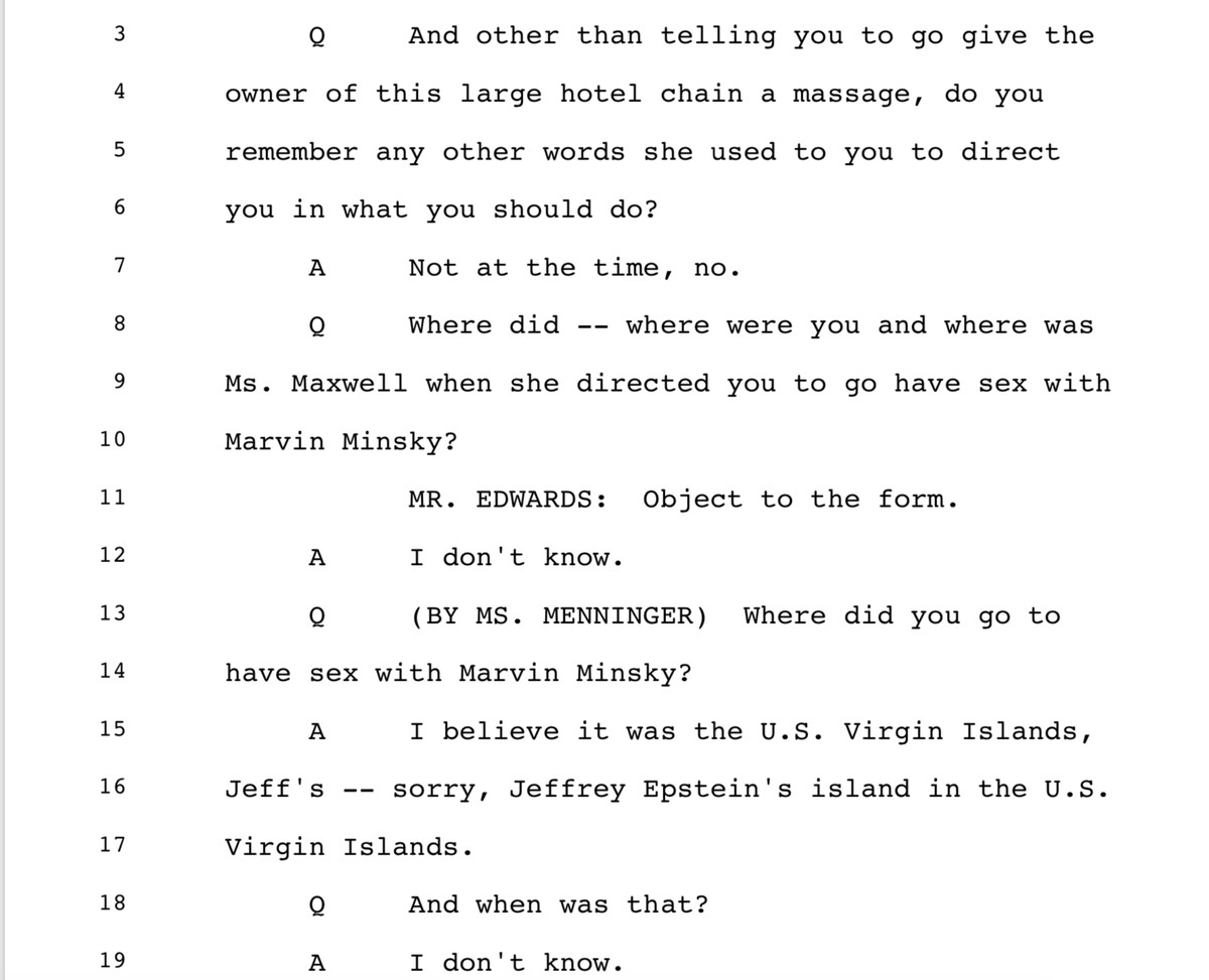 Deposition of Virginia Giuffre, taken on May 3, 2016