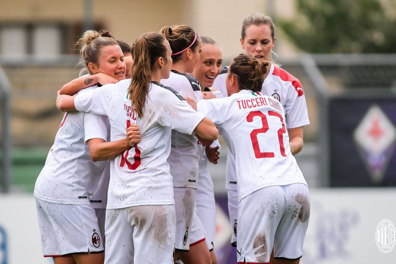 Four out of Five Ain?t Bad: The Milan Women Tie Fiorentina 1-1