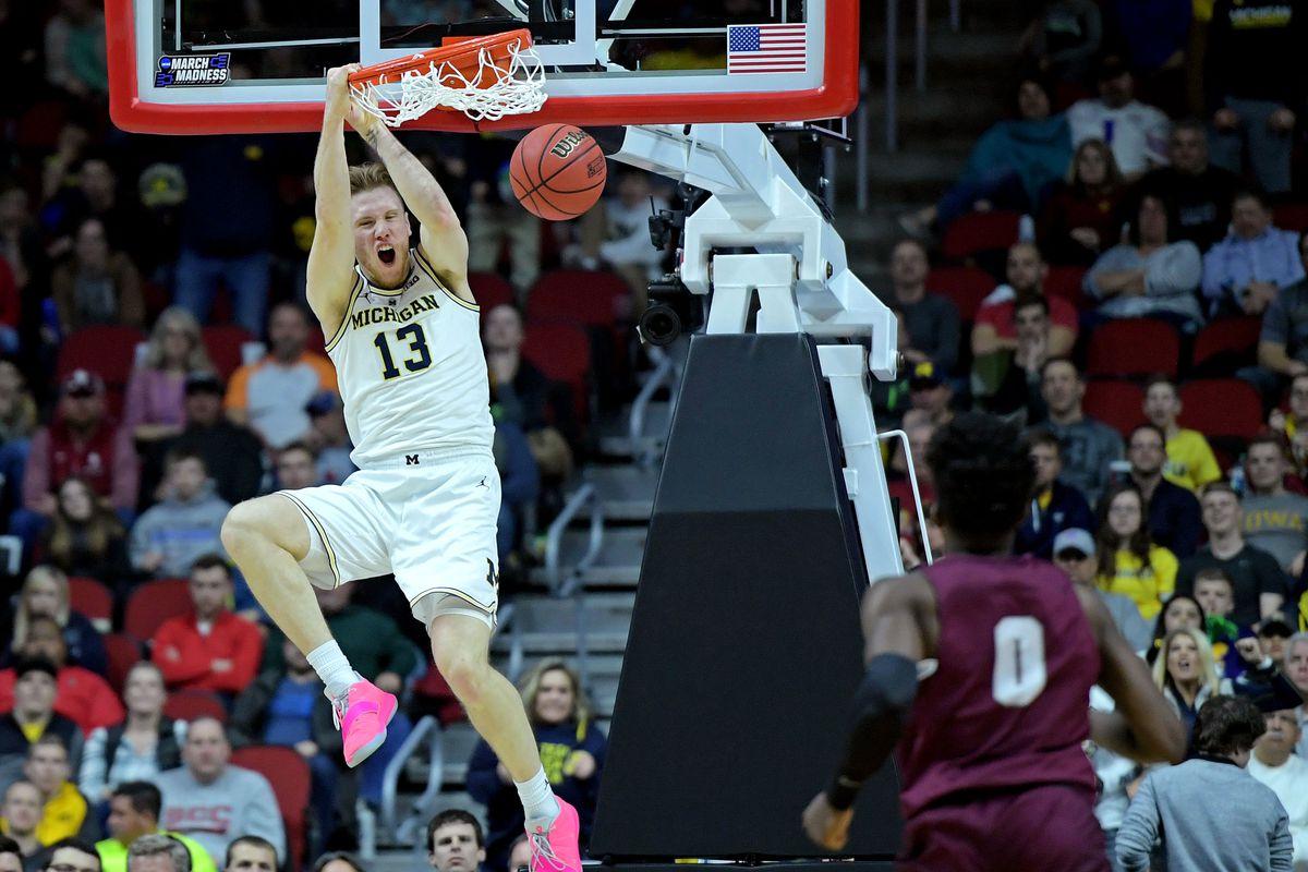NCAA Basketball: NCAA Tournament-First Round-Montana vs Michigan