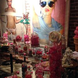 Guests satisfied their sweet tooth at the candy bar