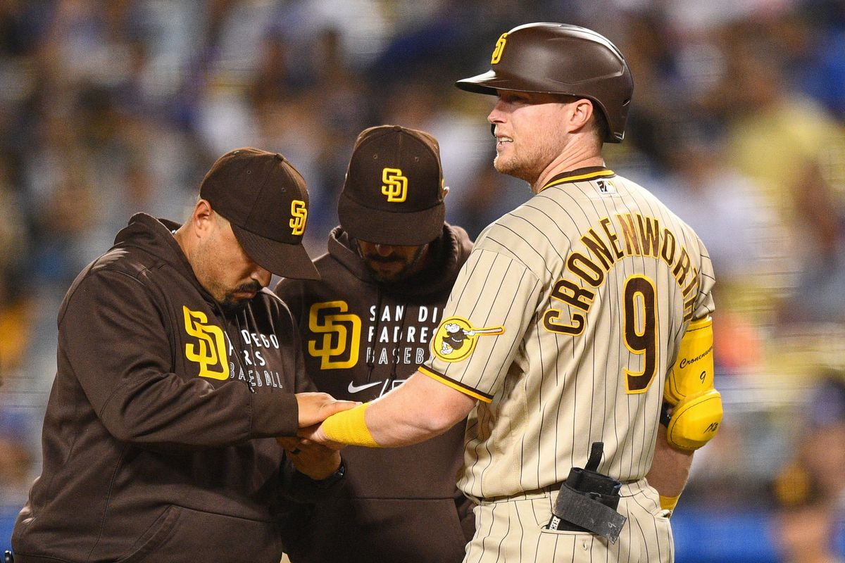 MLB: SEP 10 Padres at Dodgers