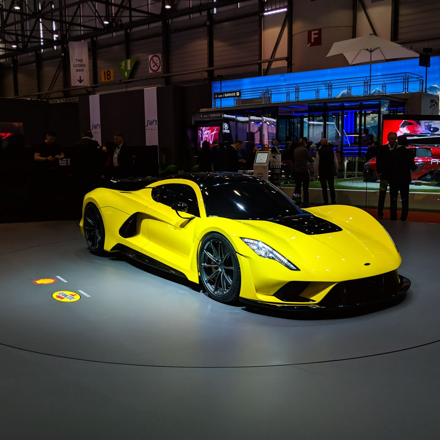 Hennessey S Venom F5 Could Be The First Road Car To Break 300 Miles Per Hour The Verge