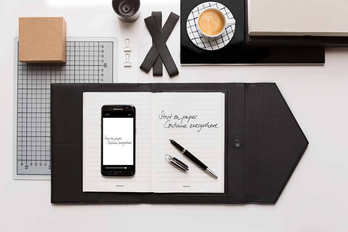montblanc u0026 39 s augmented paper digitizes rich people u0026 39 s