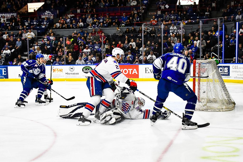 Ahl North Division Semifinals Game 2 Syracuse Crunch Vs Rochester