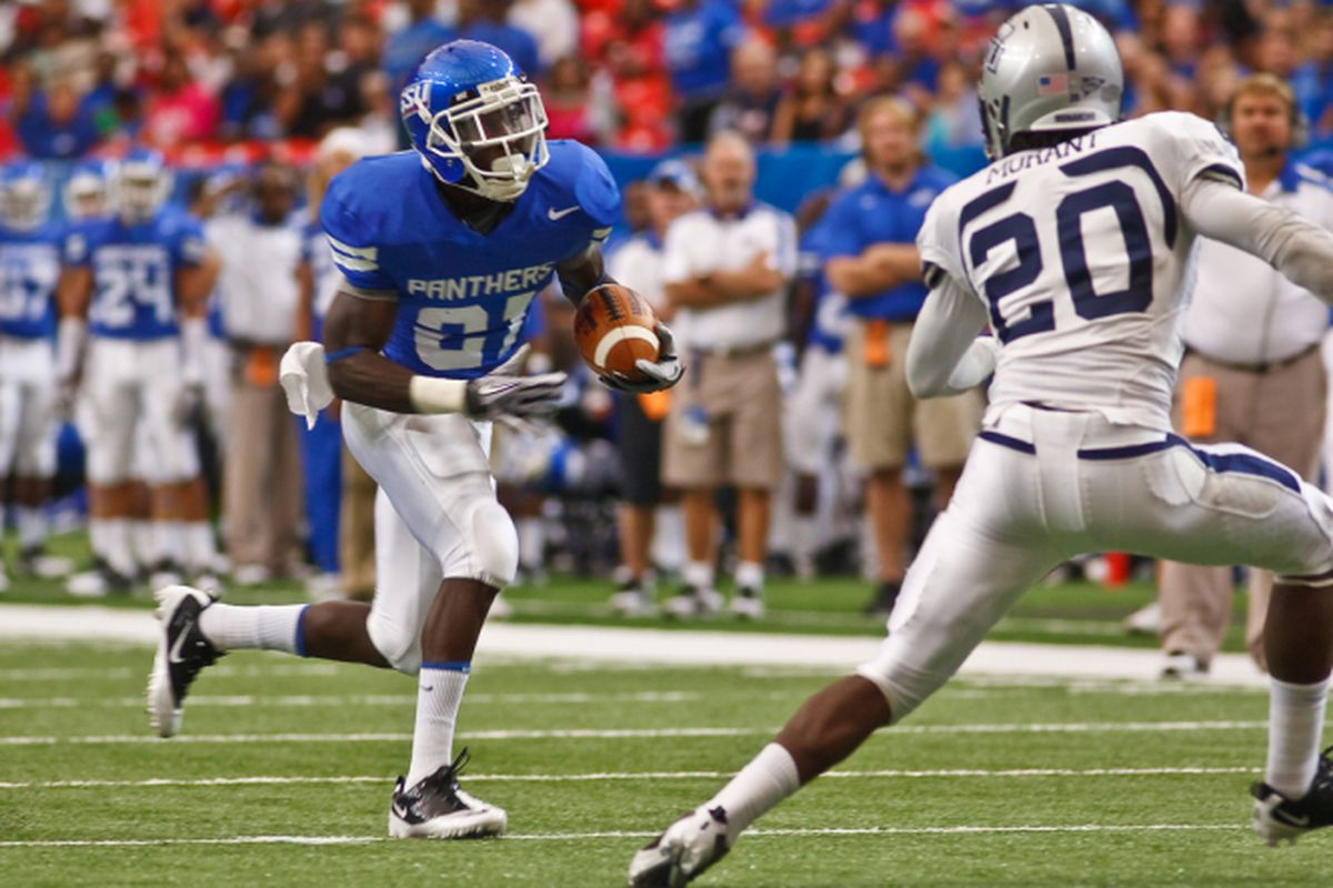 Travis Evans was one of the few bright spots for Georgia State on Saturday. Photo Courtesy of GSU Sports Communications.
