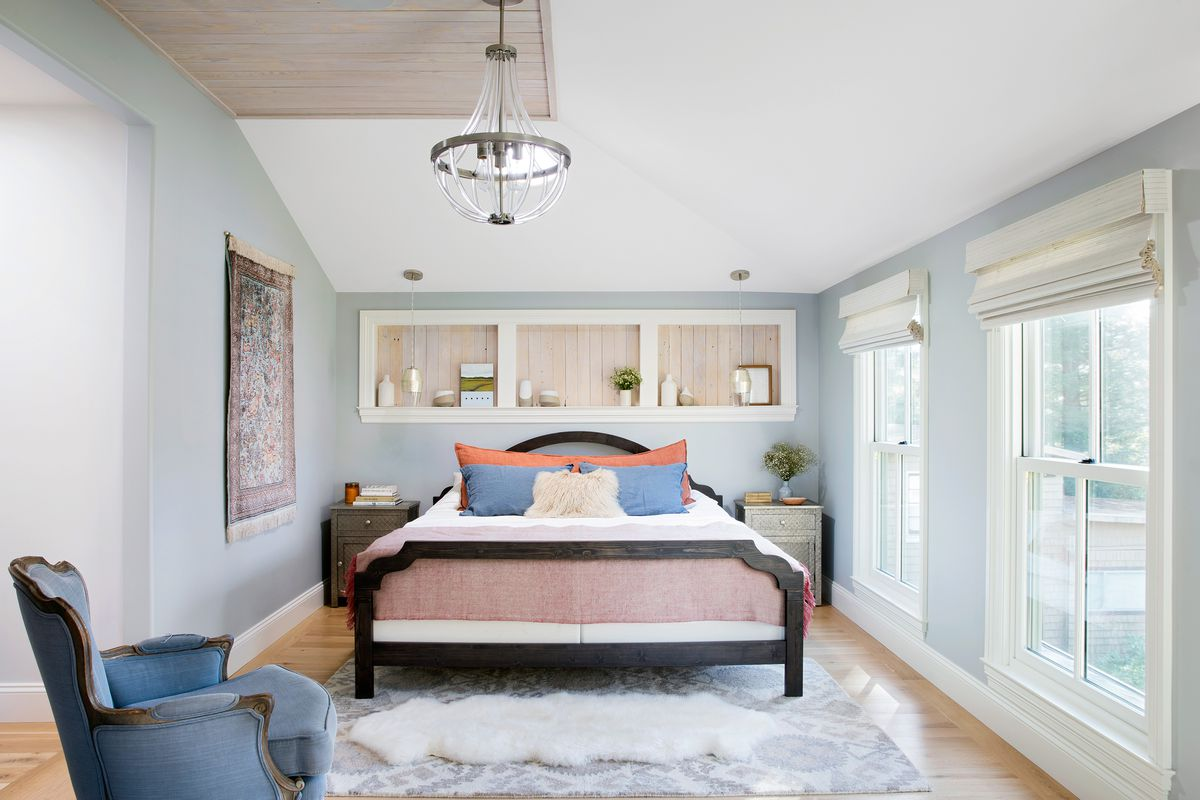 Reed House, master bedroom