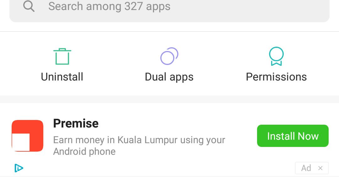 Xiaomi admits to putting ads in the settings menu of its