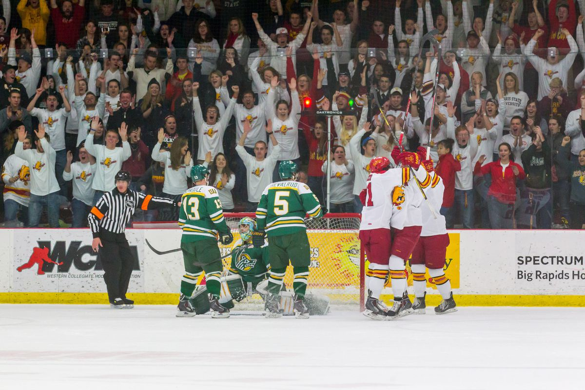 Ferris State looks to close out the regular season on a high note this weekend at the Ewigleben Arena.