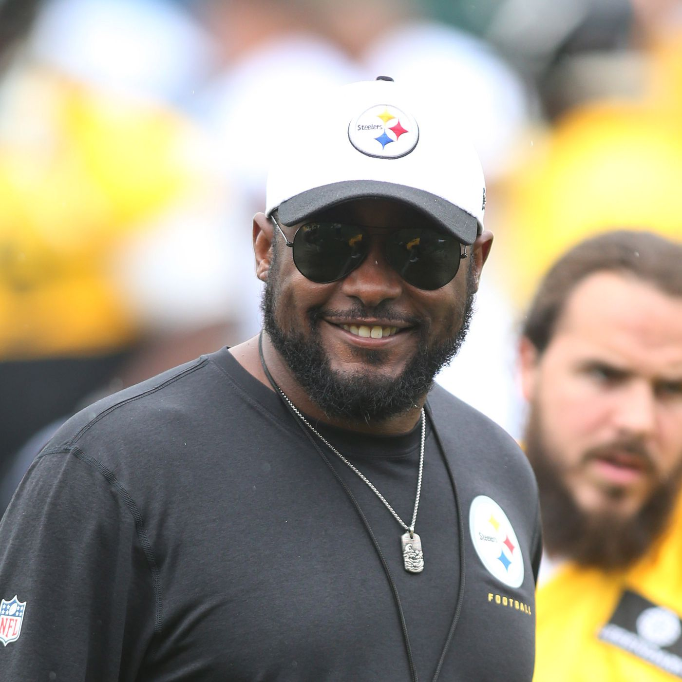 Pittsburgh Steelers Head Coach Mike Tomlin Defensive