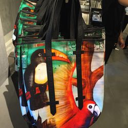 Toucan tote, $79 (was $595)