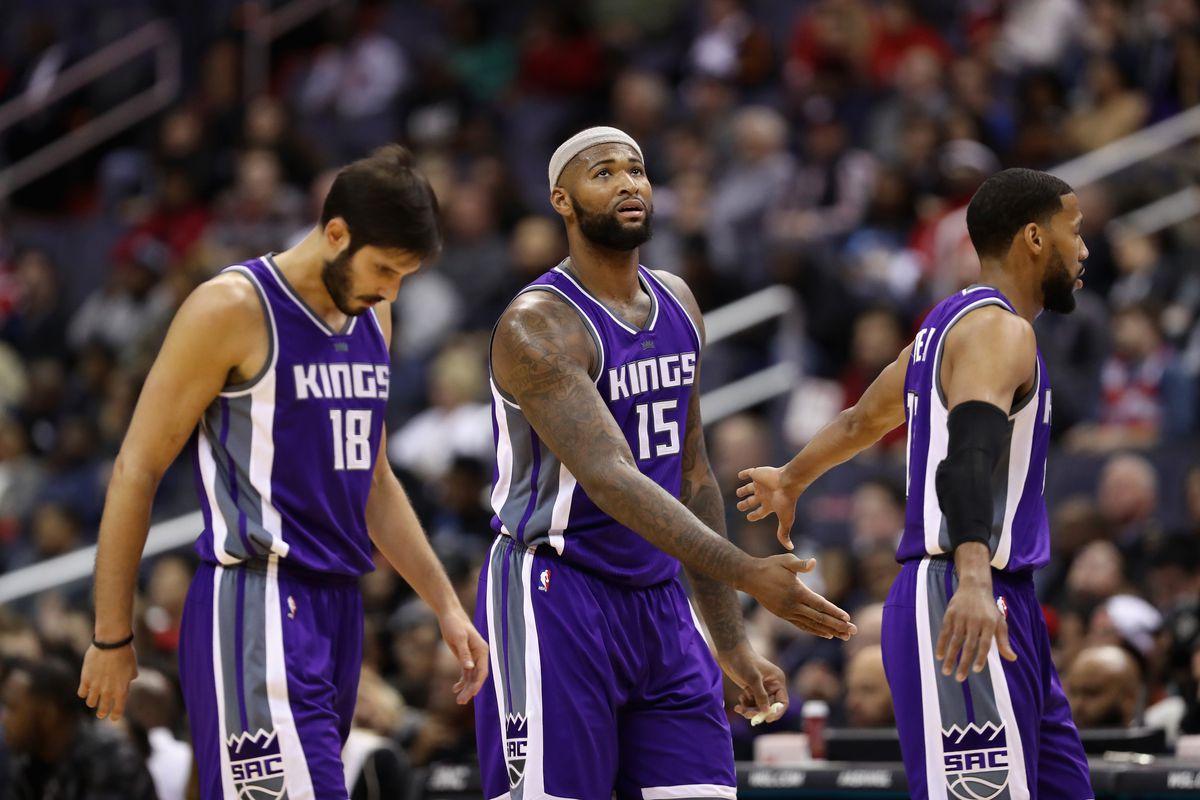 Sacramento Kings v Washington Wizards