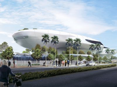 The new museum is finally underway. Rendering by MAD Architects.