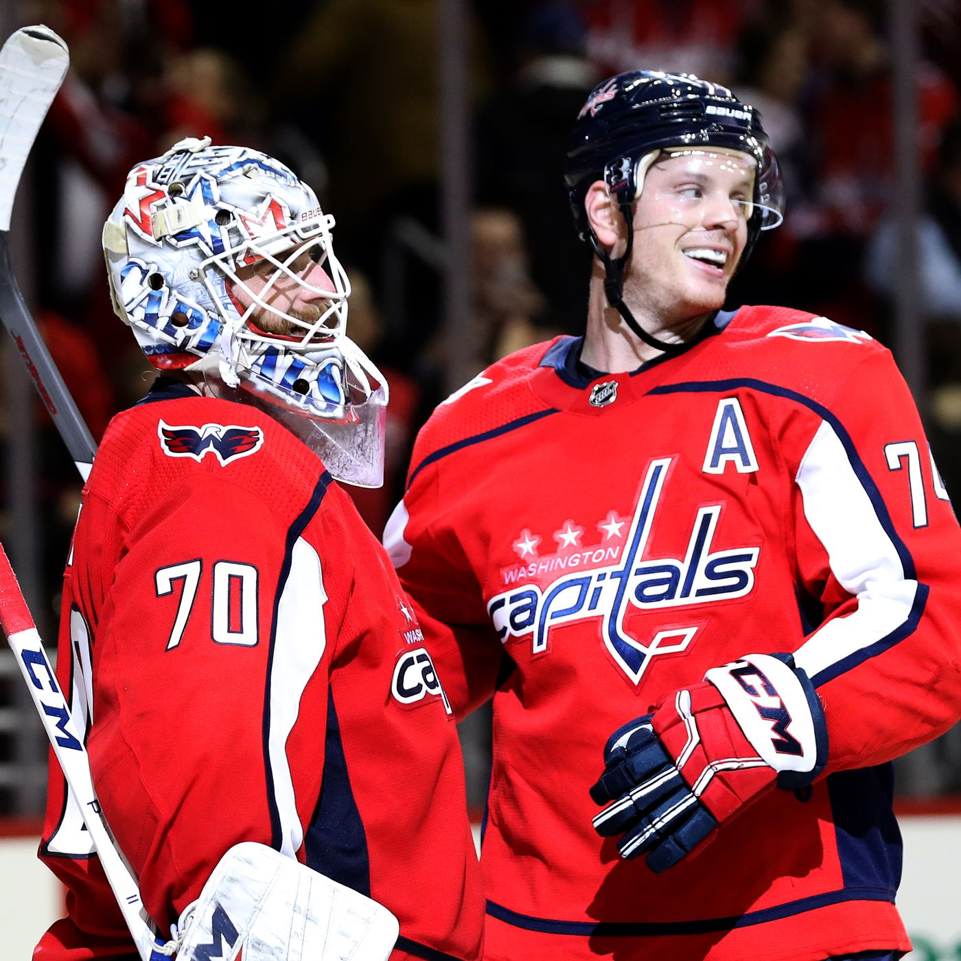 John Carlson And Braden Holtby Named To The 2019 Metro Division All Star Team Japers Rink