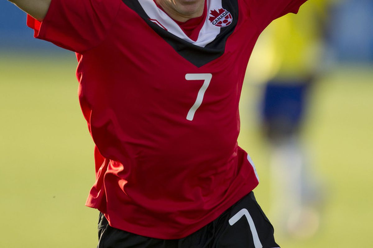 Like this <i>wasn't</i> going to be a Daily Dunfield. (Paul Giamou/Canadian Soccer Association)