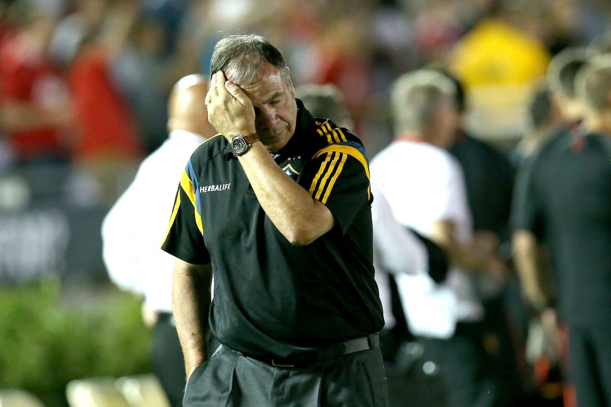 Bruce Arena had a bad friendly.