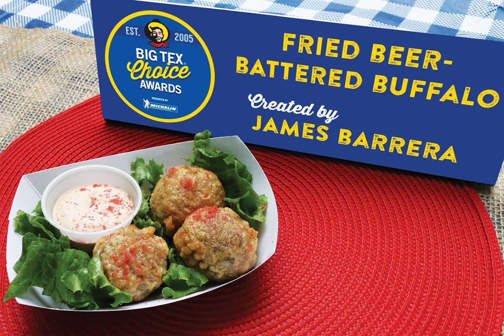 Fried Buffalo