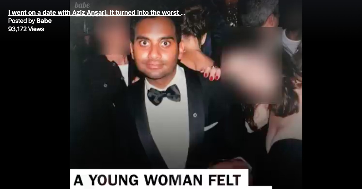 The Aziz Ansari story is a mess, but so are the arguments against it
