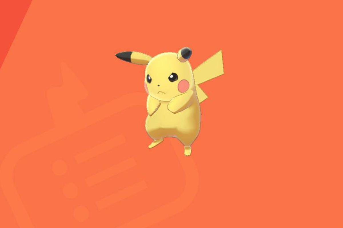 Pikachu in the Pokedex