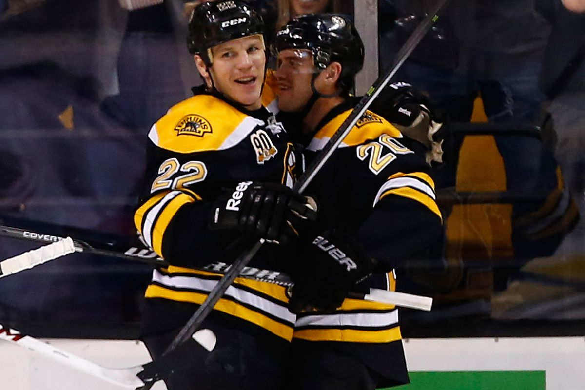 What kind of impact will Shawn Thornton have in his return to the lineup tonight?