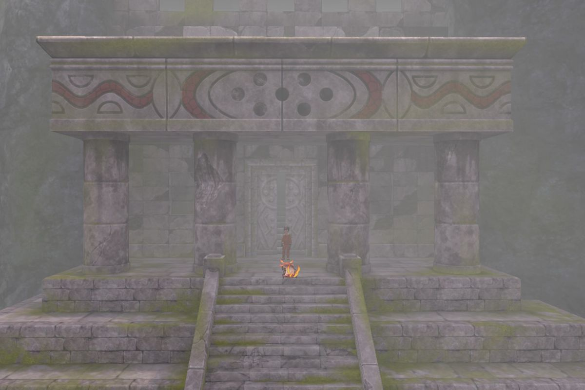 A temple in Pokémon Sword and Shield