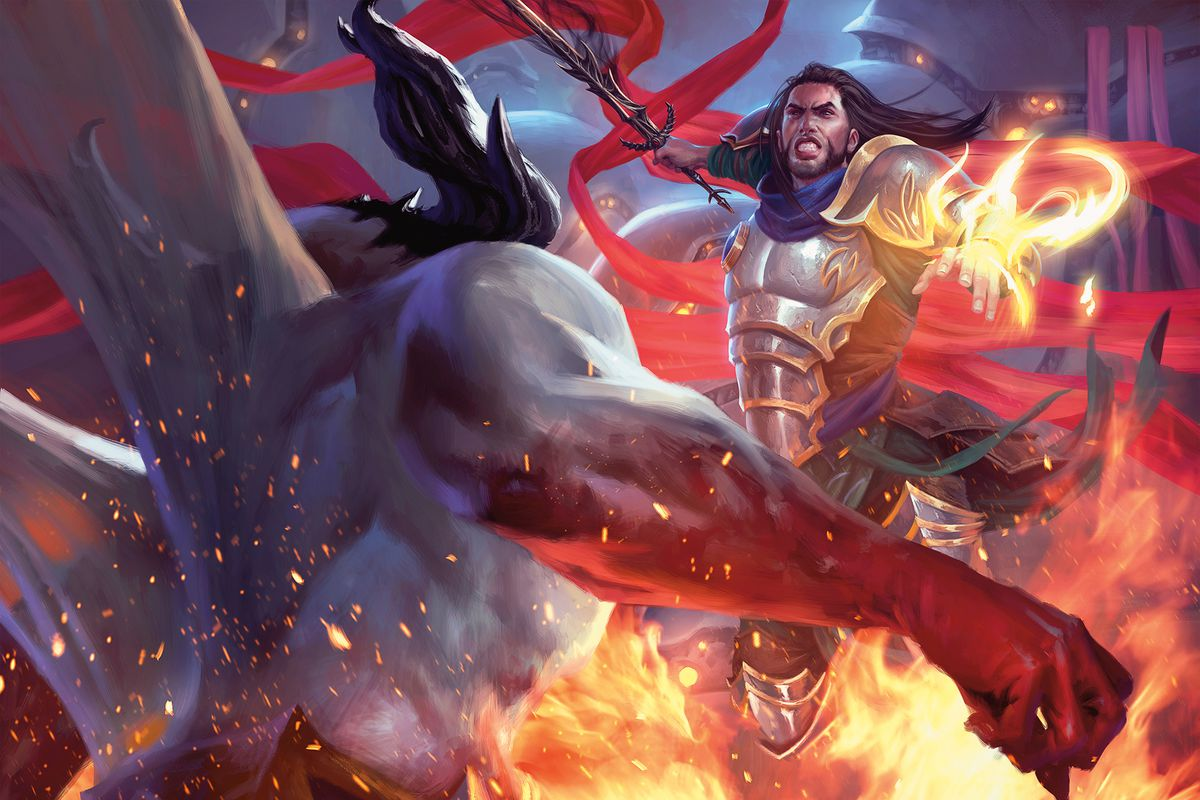 Magic The Gathering S War Of The Spark Lets Players Take Some Wild