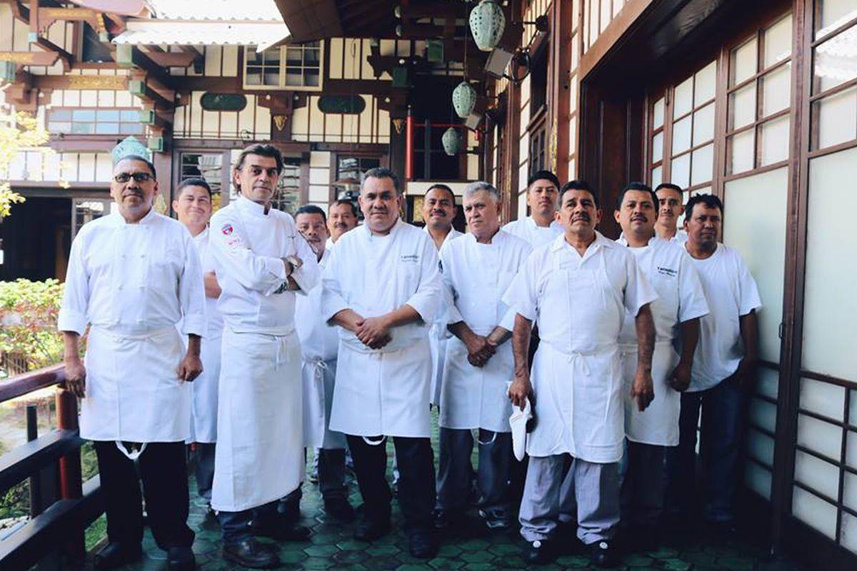 Yamashiro staff, Hollywood