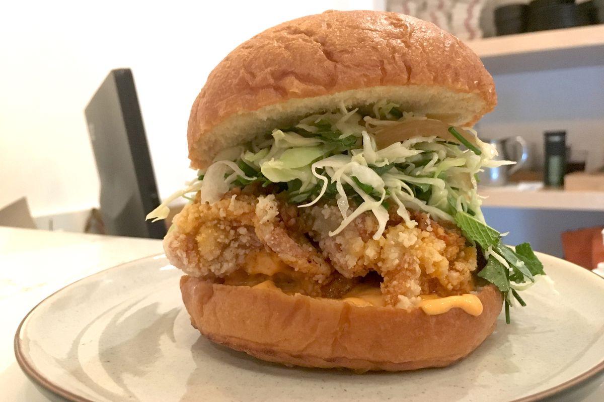 Kato Fried Chicken Sandwich