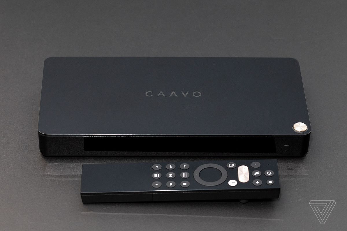 caavo and remote