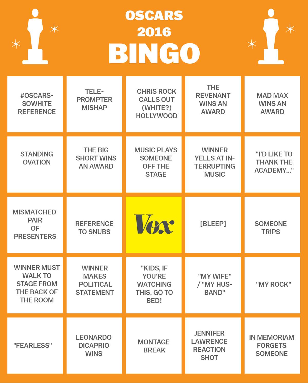 oscars 2016 bingo 1