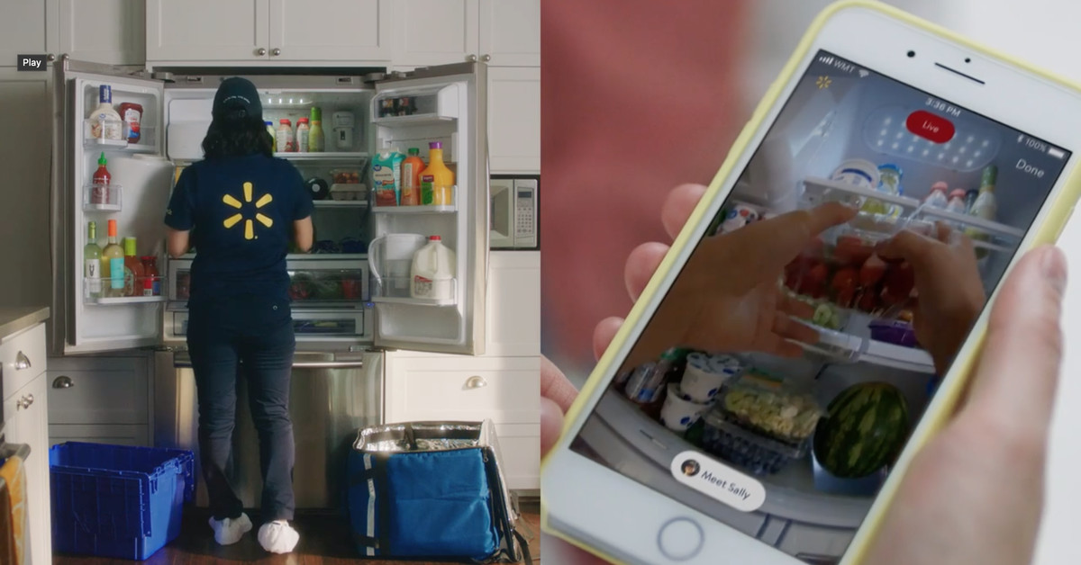 Walmart employees will soon deliver groceries directly into your fridge